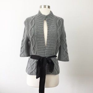 Laureate Lane Cashmere Cable Knit Sweater